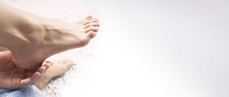 Schöne Füße dank Eucerin