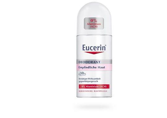 eucerin deodorant roll on empfindliche haut 24h 0 aluminium. Black Bedroom Furniture Sets. Home Design Ideas