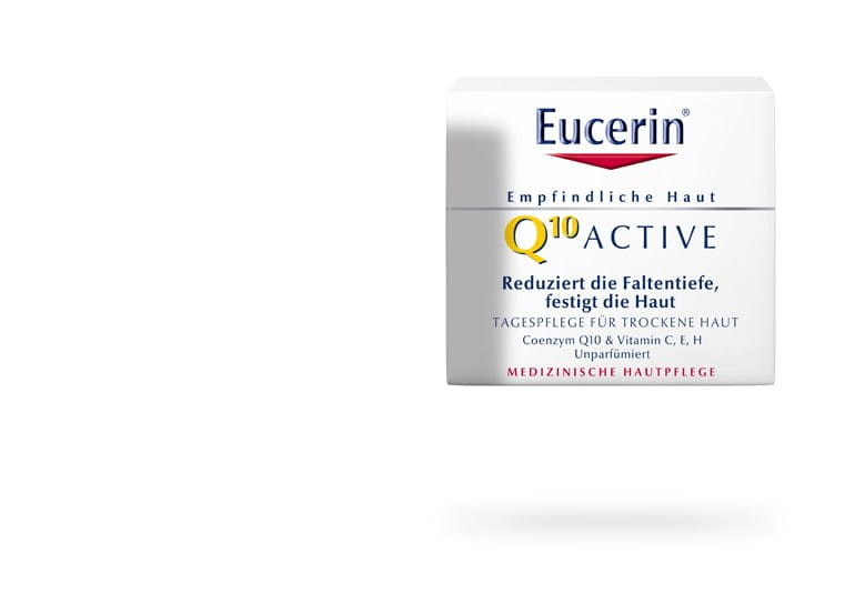 eucerin q10 active tagespflege f r trockene haut. Black Bedroom Furniture Sets. Home Design Ideas