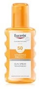 Eucerin Sensitive Protect Sun Spray Transparent LSF 50