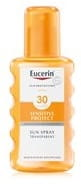 Eucerin Sensitive Protect Sun Spray Transparent LSF 30