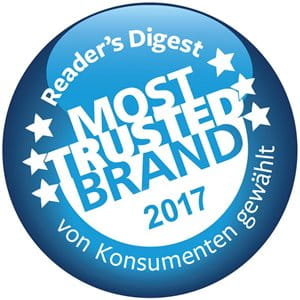 Most Trusted Brand 2017