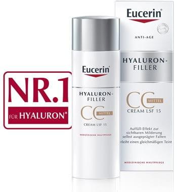 Anti Falten Creme Getönt Hyaluron Cc Cream Mittel Eucerin