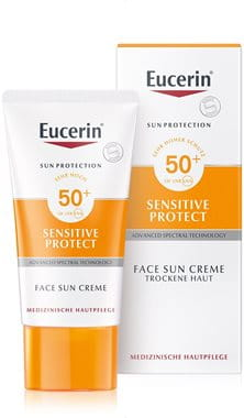 Sensitive Protect Face Sun Creme Lsf 50 Sonnenschutz Für