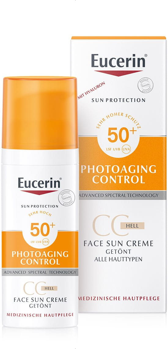 Photoaging Control Face Sun Cc Creme Getönt Lsf 50 Hell Getönter